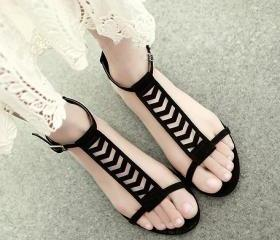 Gladiator Style Flat Sandals, Summer Sandals