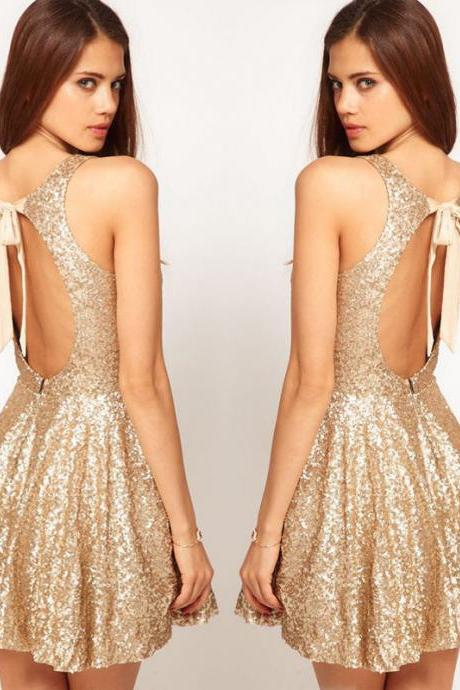 Sequins Formal Party Dress