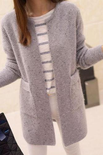 Long Jacket Thicken Warm Winter Trench Coat Outwear